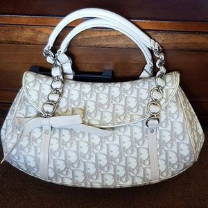 Authentic Dior trotter romantique satchel